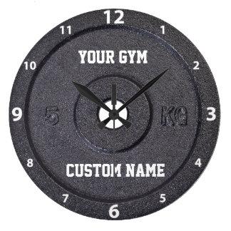 体育館の所有者またはユーザー白い数時計 ラージ壁時計