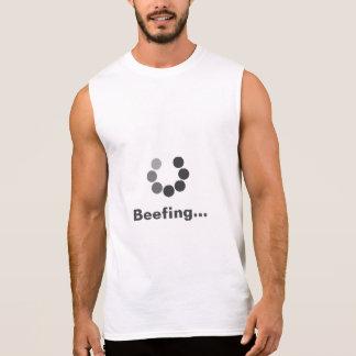 体育館の都市衣服の不平を言うこと 袖なしシャツ