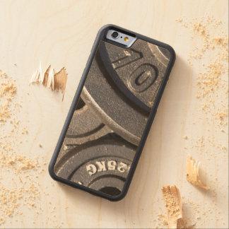 体育館の重量 CarvedメープルiPhone 6バンパーケース