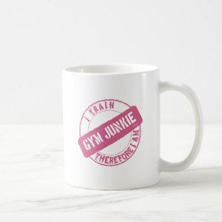 体育館の麻薬常習者。 従って私は私をあります訓練します。 ピンク コーヒーマグカップ