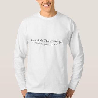 体育館を恋しく思いました Tシャツ