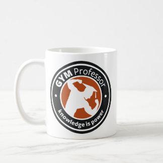 「体育館教授」白いマグ コーヒーマグカップ