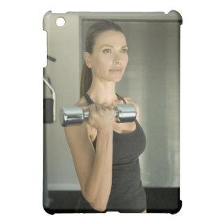 体育館2で解決している女性 iPad MINI CASE