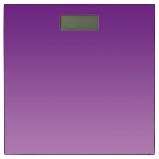 体重計: 紫色のグラデーション 体重計