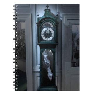 「体」の-恐怖テーマのノートを隠します ノートブック