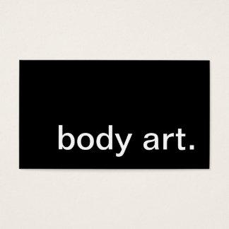 体art. 名刺