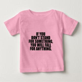 何かのための立場 ベビーTシャツ