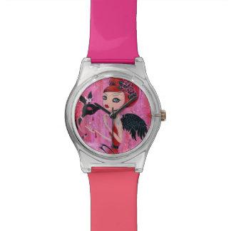 何かはゆがんでいます 腕時計