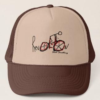 何かをトラック運転手の帽子始めて下さい キャップ