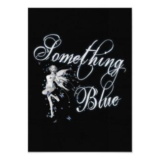 何か青い蝶妖精-オリジナル カード