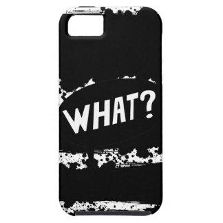 """""""何か。""""はね飛ばされたペンキのiPhoneの場合 iPhone SE/5/5s ケース"""