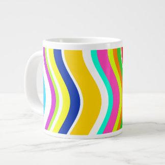 何でもしかしカーブとの灰色 ジャンボコーヒーマグカップ