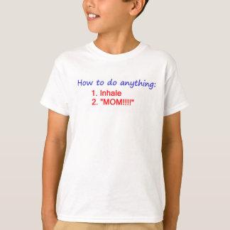 何でもする方法 Tシャツ