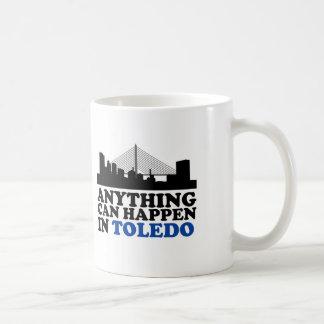 何でもトレドで起こることができます コーヒーマグカップ