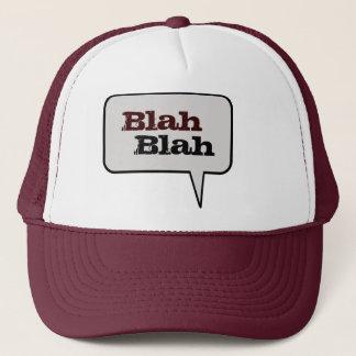 何とかかんとかスピーチの泡帽子 キャップ