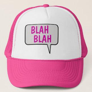 何とかかんとかスピーチの泡話す帽子 キャップ