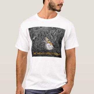 何に今日影響を与えますか。 Tシャツ