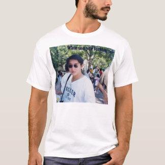 何に見ていますか。 Tシャツ