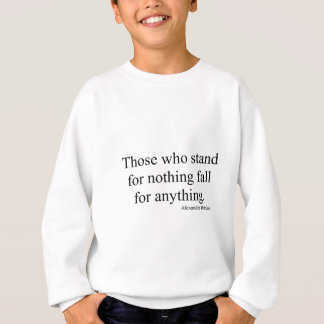 何もを意味する人 スウェットシャツ