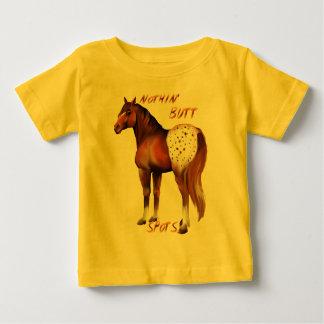 何も点のワイシャツを接合しません ベビーTシャツ
