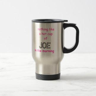 何も熱いcupof、午前中ジョーを、好みません トラベルマグ