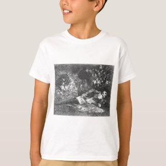何も。 イベントはフランシスコ・デ・ゴヤによって告げます Tシャツ