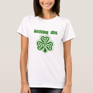 何もDHS St patricks dayのTシャツ Tシャツ