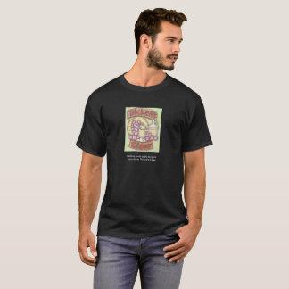 何もDickensの暖かいりんご酒感じません Tシャツ