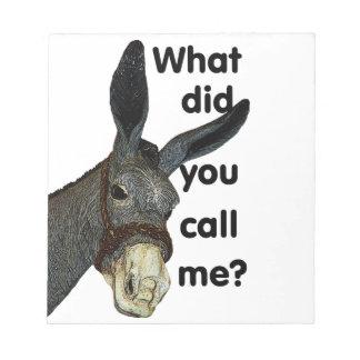 何を私と呼びましたか。 ノートパッド
