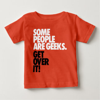何人かの人々ギークです ベビーTシャツ