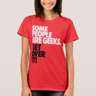 何人かの人々ギークです Tシャツ