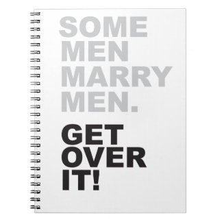 何人かの人はそれを人と、乗り越えます結婚します! ノートブック