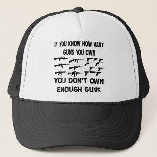 何挺銃を所有するか知っていれば キャップ