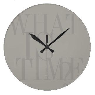 何時ですか。 時計
