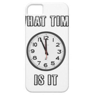 何時にそれがあるか、時計 iPhone SE/5/5s ケース