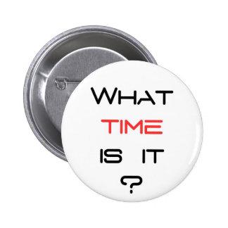 何時にそれはありますか。 5.7CM 丸型バッジ