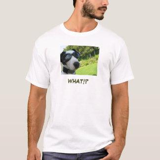 何!か。 Tシャツ