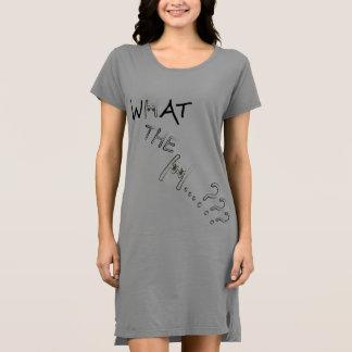 何Hか。か。か。 女性のTシャツの服 ドレス