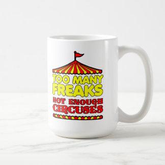 余りにも多くの変種のおもしろマグカップ コーヒーマグカップ