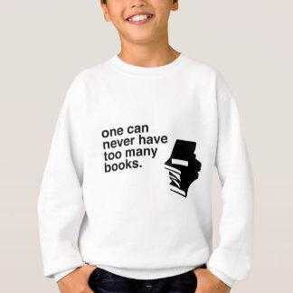余りにも多くの本 スウェットシャツ