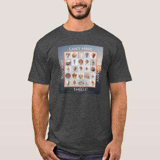 余りにも多くの貝の日没 Tシャツ