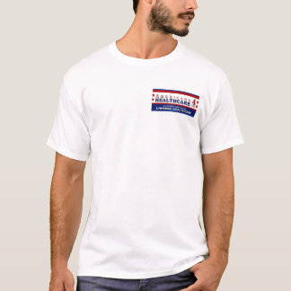 余りにアメリカ人4のヘルスケアのTシャツ Tシャツ