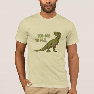 余りに大きいディーノのティーを失敗するため Tシャツ