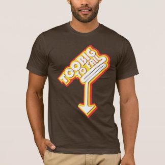 余りに大きい失敗するため(矢と) Tシャツ
