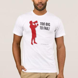 余りに大きい失敗するため! Tシャツ