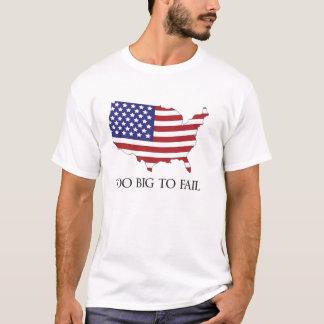 余りに大きい米国を失敗するため Tシャツ