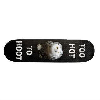 余りに熱いはやし立てるため 19.7CM スケートボードデッキ