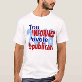 余りに知識のあるティー Tシャツ