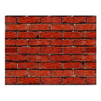 余りに赤レンガの壁の~ ポストカード