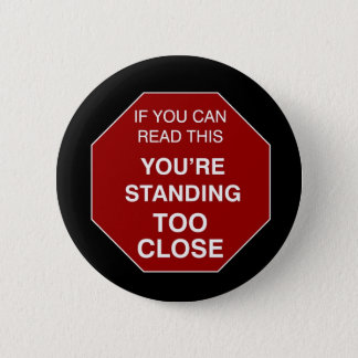 余りに近く-ボタン 缶バッジ